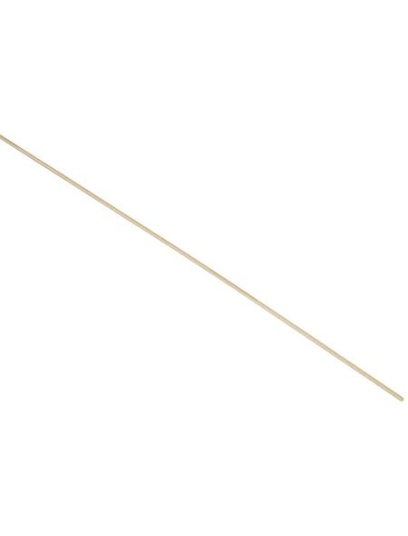 FN NEUHOFER HOLZ Rundstab, Buchenholz natur, LxHxT: 100 x 0,3 x 0,3 cm