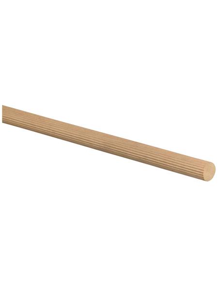 FN NEUHOFER HOLZ Rundstab, Holzoptik buchenfarben, Holz, LxHxT: 100 x 2 x 2 cm