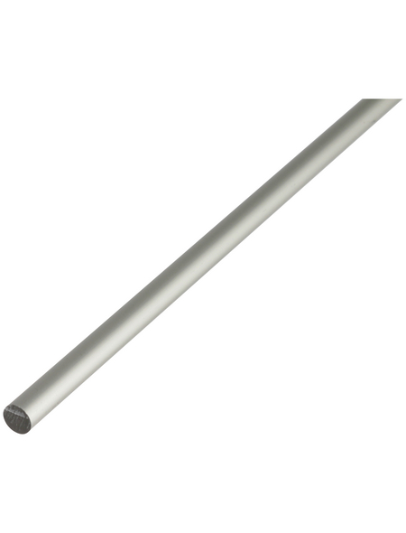 GAH ALBERTS Rundstange, Silber, Aluminium