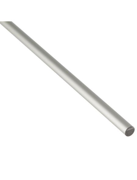 GAH ALBERTS Rundstange, Silber, Aluminium, Ø 10 x 2000 mm