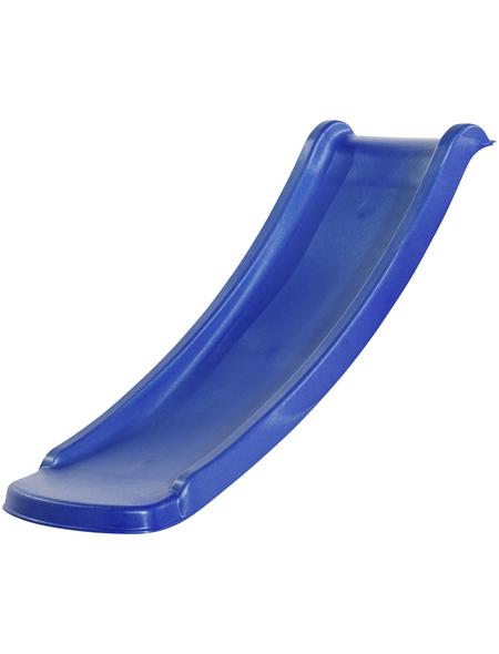 AKUBI Rutsche, Kunststoff, 120 cm, blau