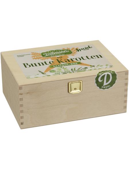 SAATGUT DILLMANN Saatgut-Box Bunte Karotten