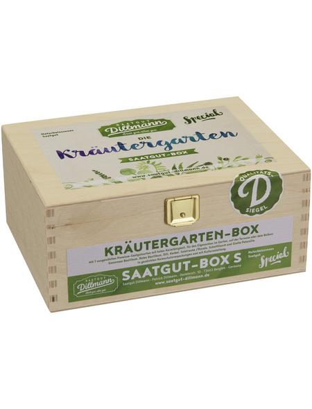 SAATGUT DILLMANN Saatgut-Box Kräutergarten