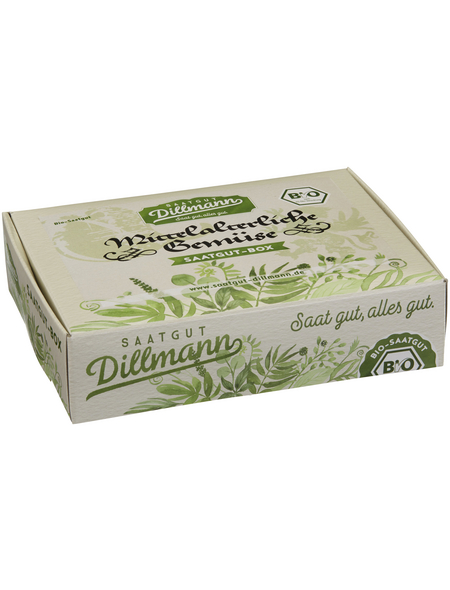 SAATGUT DILLMANN Saatgut-Box Mittelalterliche Gemüse