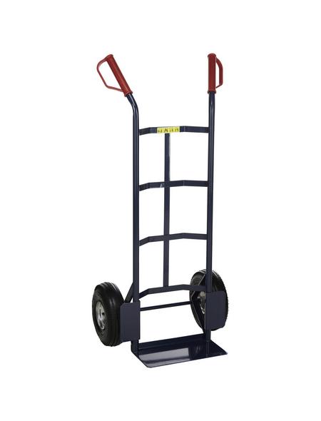 pro-bau-tec® Sackkarre »Standard«, max. 315 kg, Stahl, blau