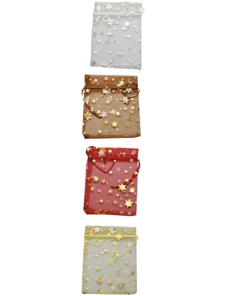 CASAYA Säckchen, zum Ziehen, Organza ,Mehrfarbig