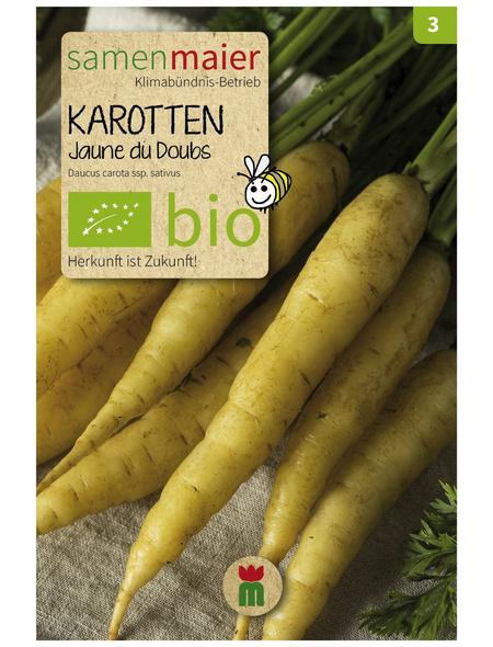 SAMEN MAIER Samen Bio Karotten, Jaune du Doubs