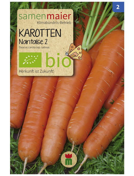 SAMEN MAIER Samen Bio Karotten, Nantaise 2