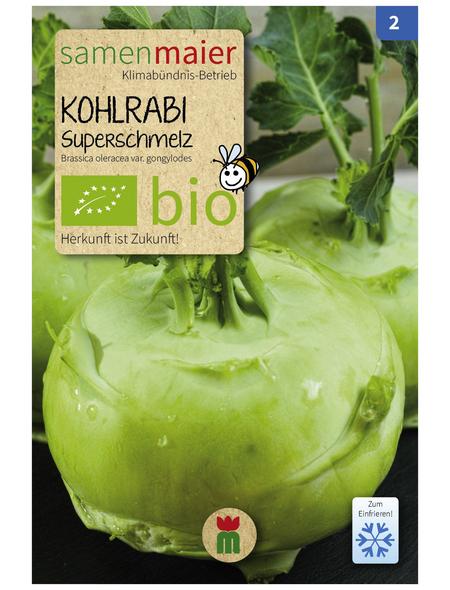 SAMEN MAIER Samen Bio Kohlrabi, Superschmelz