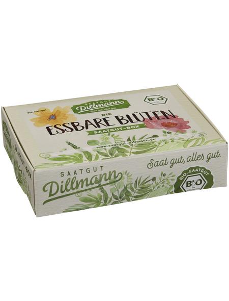 SAATGUT DILLMANN Samen Essbare Blüten Saatgut-Box