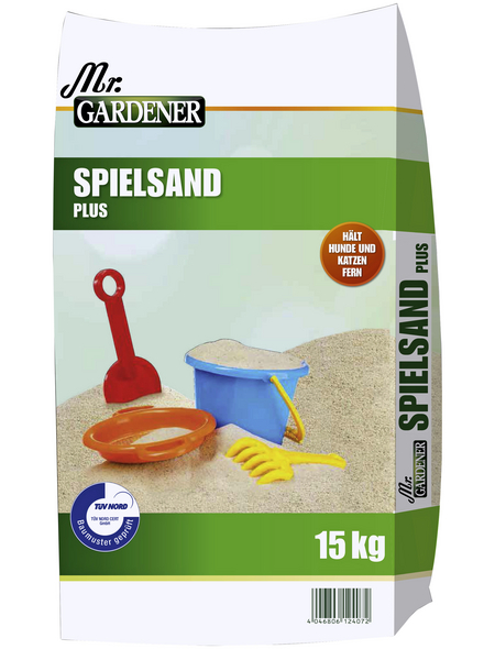 MR. GARDENER Sand »Spielsand«, braun