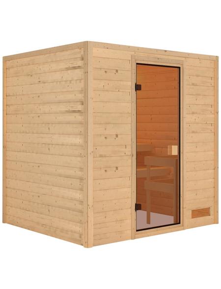 WOODFEELING Sauna »Anja«, ohne Ofen