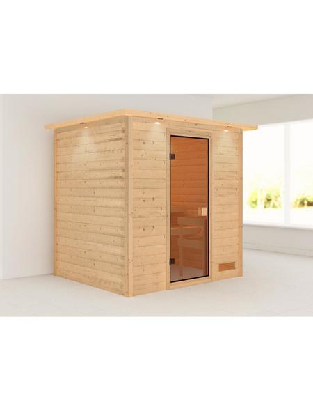 WOODFEELING Sauna »Anja« ohne Ofen