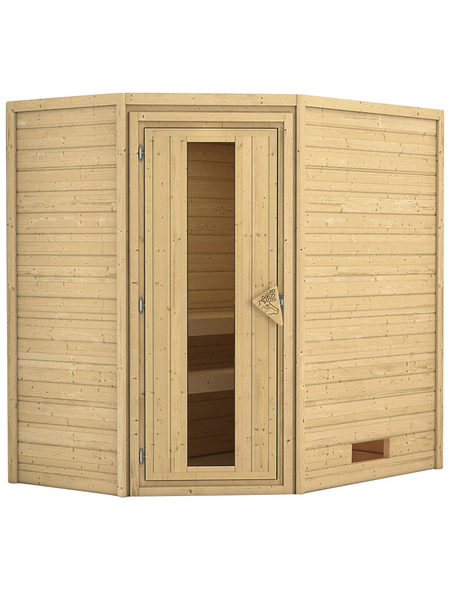 KARIBU Sauna »Baldohn«, ohne Ofen