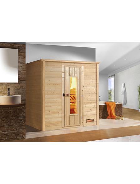 WEKA Sauna »Bergen 2«, für 2 Personen ohne Ofen