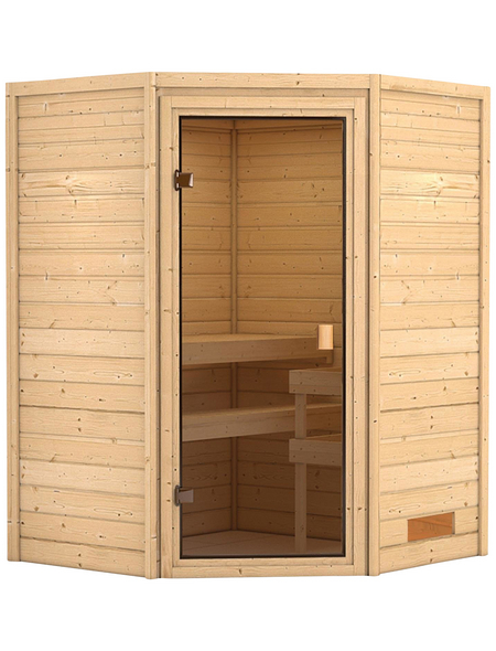 WOODFEELING Sauna »Franka«, ohne Ofen