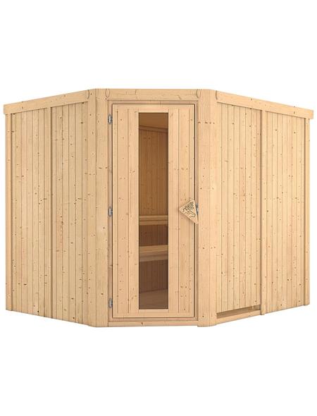 KARIBU Sauna »Haaspsalu« ohne Ofen