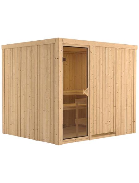 KARIBU Sauna »Jöhvi« ohne Ofen