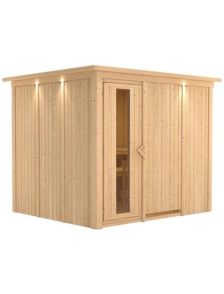 KARIBU Sauna »Jöhvi«, ohne Ofen