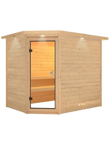 KARIBU Sauna »Kärdla«, ohne Ofen