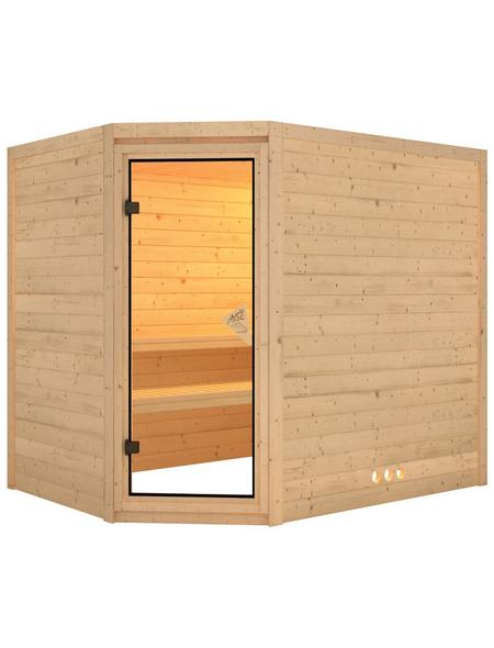 KARIBU Sauna »Kärdla« ohne Ofen