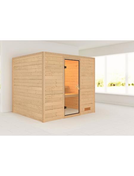 WOODFEELING Sauna »Karla« ohne Ofen