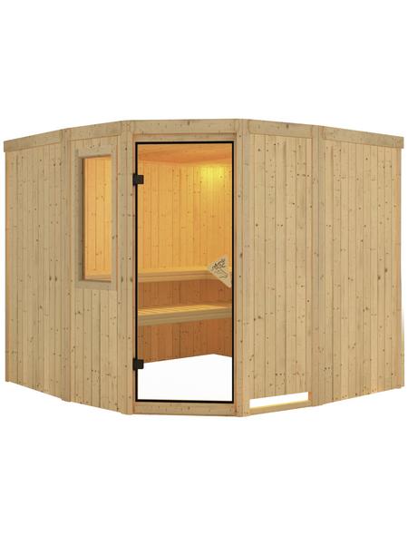 KARIBU Sauna »Keila 3« ohne Ofen