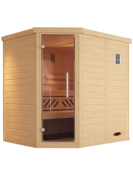 WEKA Sauna »Kemi« ohne Ofen