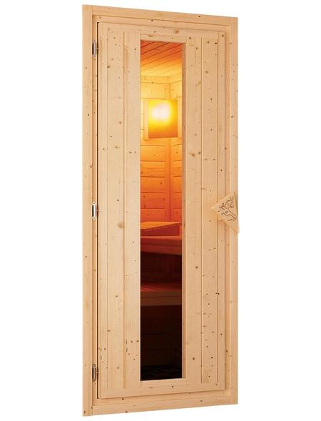 KARIBU Sauna »Kothla«, ohne Ofen