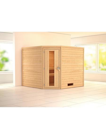 WOODFEELING Sauna »Leona« ohne Ofen