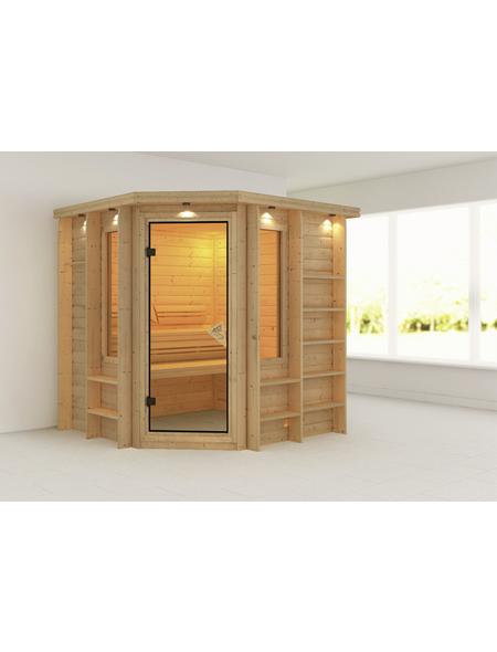 KARIBU Sauna »Libau«, ohne Ofen