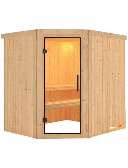 KARIBU Sauna »Maardu«, ohne Ofen