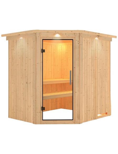 KARIBU Sauna »Maardu« ohne Ofen