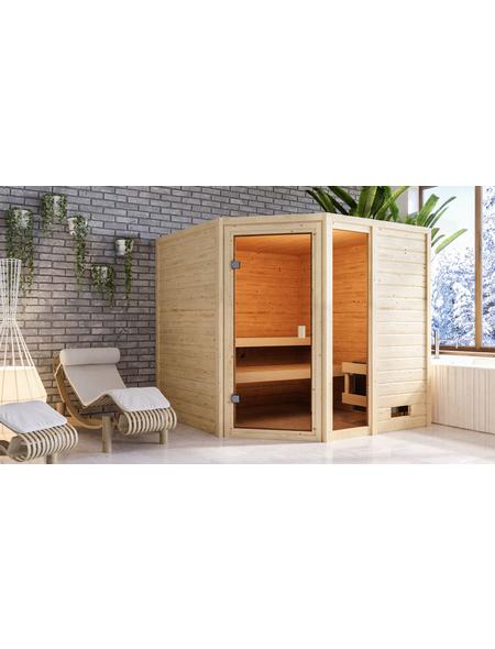 WOODFEELING Sauna »Malyn«, für 4 Personen ohne Ofen