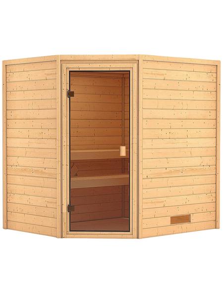 WOODFEELING Sauna »Mia«, ohne Ofen