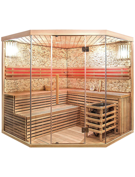 HOME DELUXE Sauna »« mit Ofen, integrierte Steuerung