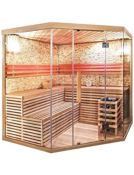 HOME DELUXE Sauna mit Ofen, integrierte Steuerung