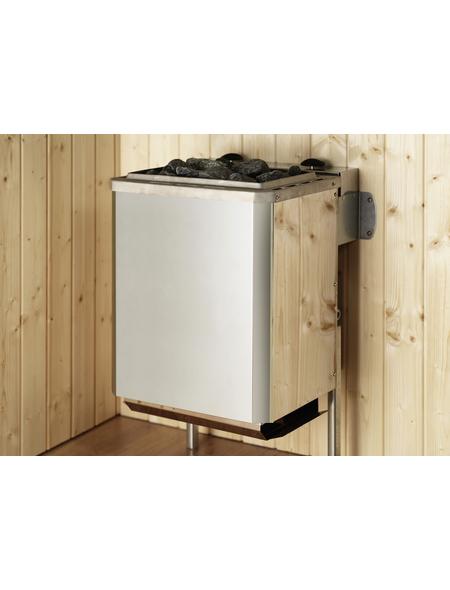 WEKA Sauna mit Ofen, integrierte Steuerung