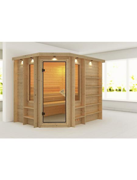 KARIBU Sauna »Mitau«, ohne Ofen