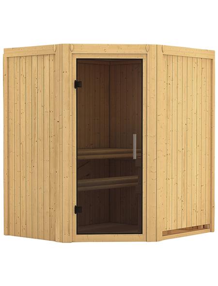 KARIBU Sauna »Narva«, ohne Ofen