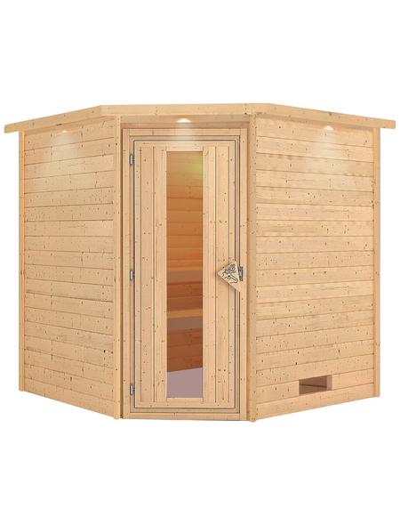 WOODFEELING Sauna »Nina«, ohne Ofen