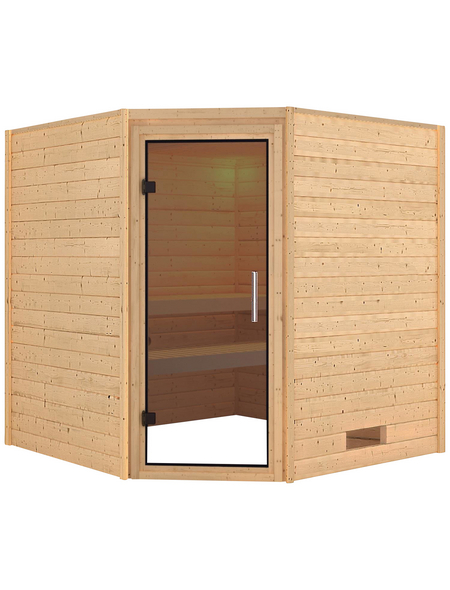 WOODFEELING Sauna »Nina« ohne Ofen
