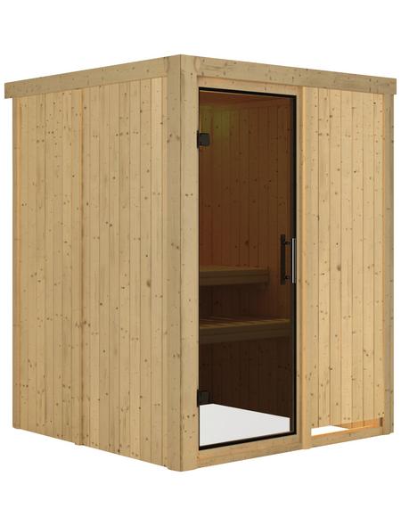 KARIBU Sauna »Ogershof« ohne Ofen