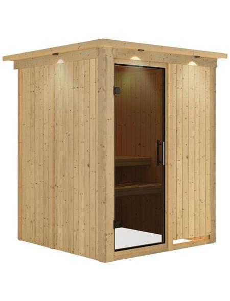 KARIBU Sauna »Ogershof«, ohne Ofen