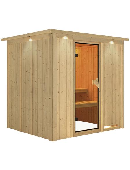 KARIBU Sauna »Olai «, ohne Ofen