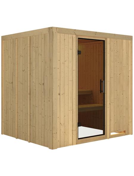 KARIBU Sauna »Olai«, ohne Ofen