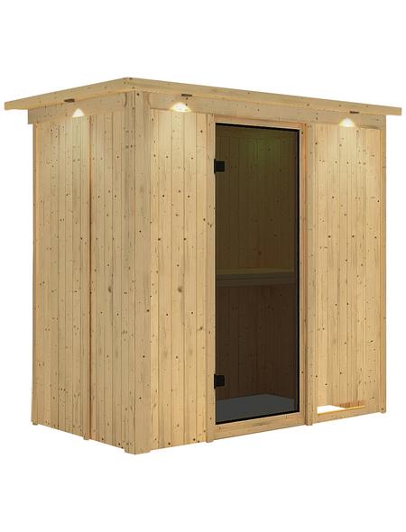 KARIBU Sauna »Pärnu«, ohne Ofen