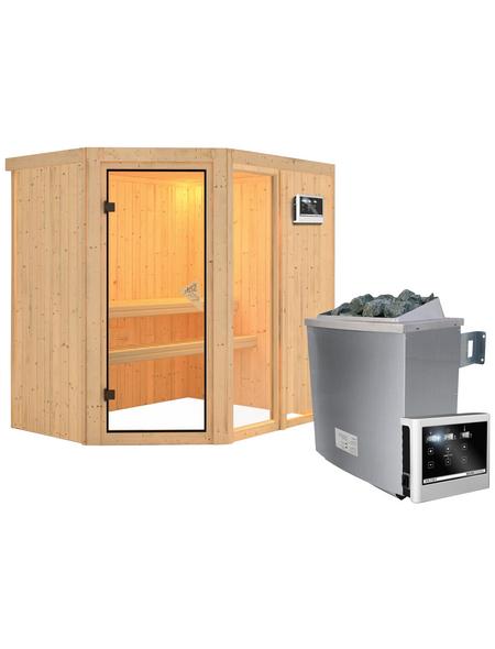 KARIBU Sauna »Paide 1«, mit Ofen, externe Steuerung