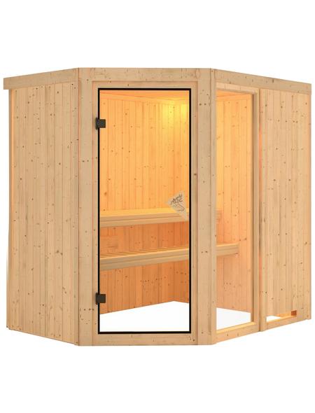KARIBU Sauna »Paide 1« ohne Ofen