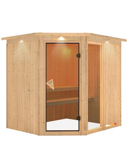 KARIBU Sauna »Paide 2« ohne Ofen